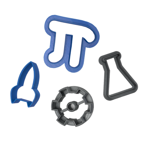 STEM Cookie Cutters (set of 4)