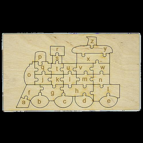 Train Alphabet Puzzle Small
