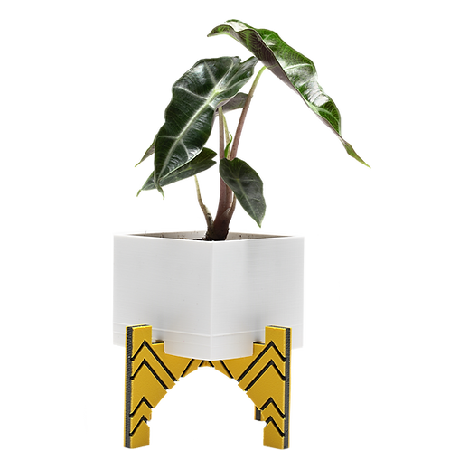 Cube Planter with stand