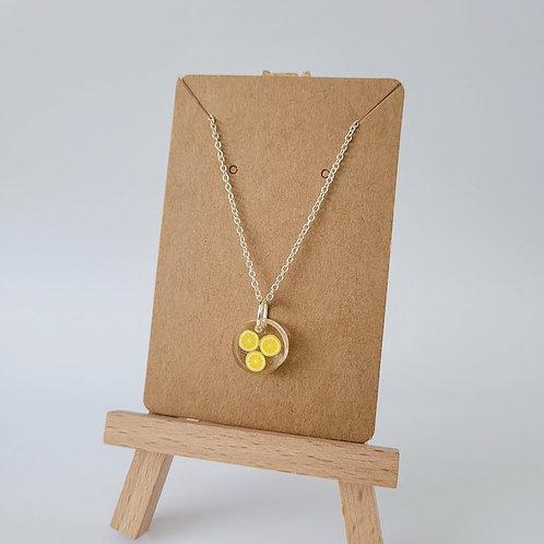 Summery Lemon Necklace