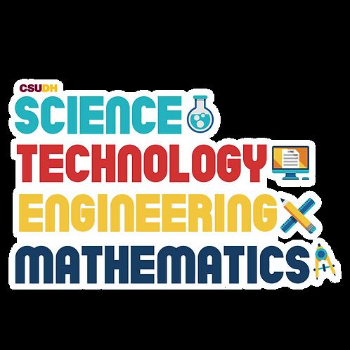 STEM Sticker