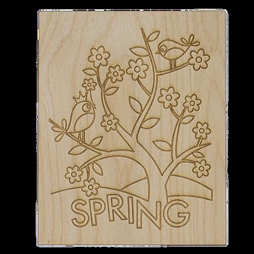 Spring Wooden Craft Kit