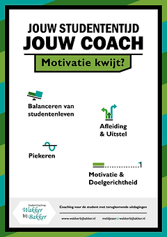 Wakker, Bakker, student coaching, lezing, workshop, motivatie, time-management, perfectionisme, solliciteren, effectief studeren, burn-out