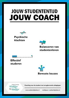 Wakker bij Bakker, student coaching, lezing, workshop, motivatie, time-management, perfectionisme, solliciteren, effectief studeren, burn-out, faalangst, bestuur, combineren