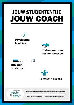 Wakker bij Bakker, student coaching, Groningen, Amsterdam, Delft, Leiden, Utrecht, Nijmegen, Zwolle: Motivatie, faalangst, stress, studiekeuze, effectief studeren, agenda
