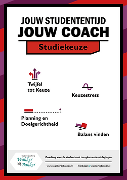 student coaching, studiekeuze, begeleiding, advies, adviseur, motivatie, balans, planning, doelgerichtheid