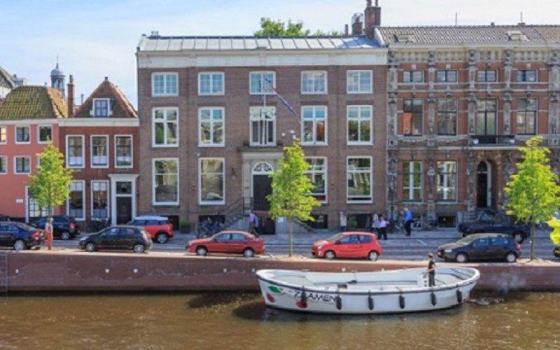 Haarlem zaamen pand foto