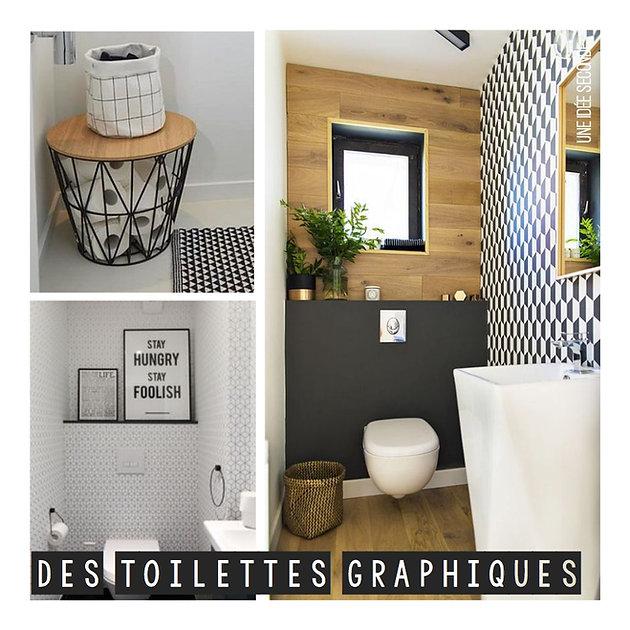 Comment décorer ses toilettes ?   Une Idee Seconde, Décoration d ...