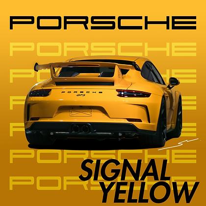 Porsche Signal Yellow