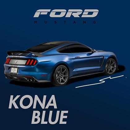 Ford Kona Blue