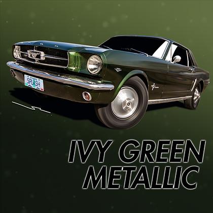 Ford Ivy Green Metallic