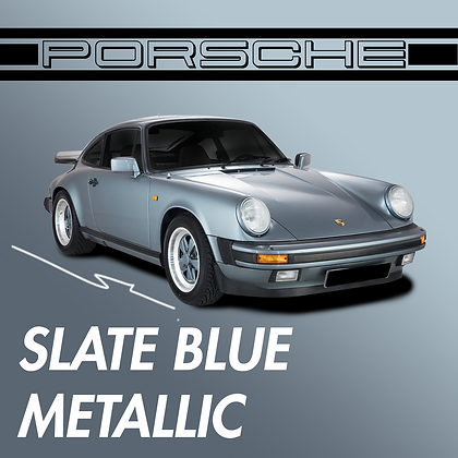 Porsche Slate Blue Metallic