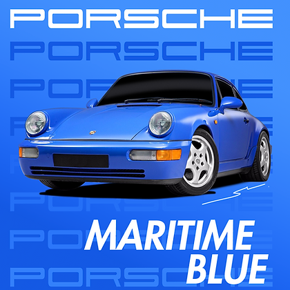 Porsche Maritime Blue