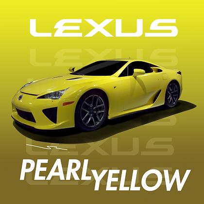 Lexus Pearl Yellow