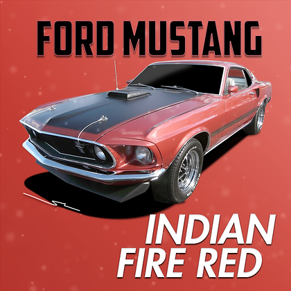 Ford Indian Fire Red