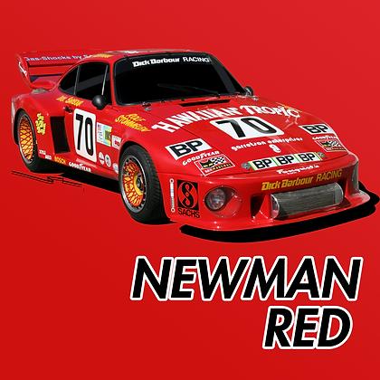 Porsche Newman Red