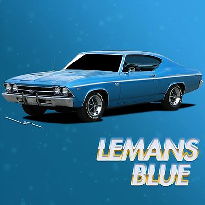 Chevrolet Lemans Blue