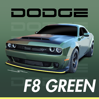 Dodge F8 Green
