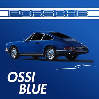 Porsche Ossi Blue