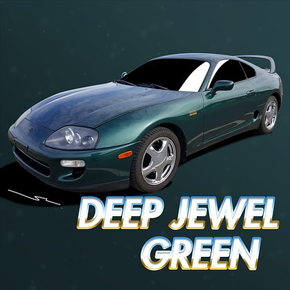 Toyota Deep Jewel Green