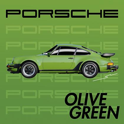 Porsche Olive Green