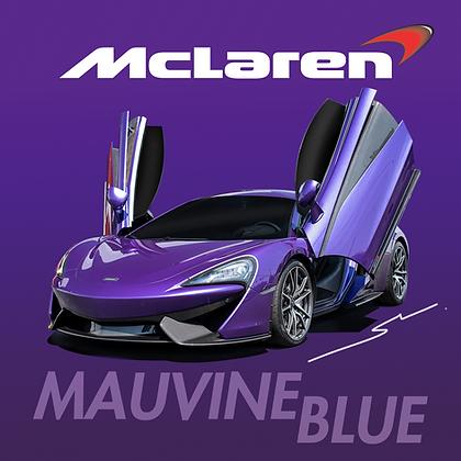 Mclaren Mauvine Blue