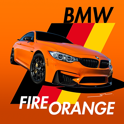 BMW Fire Orange