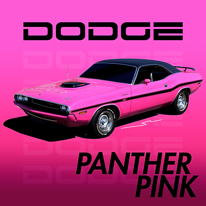 Dodge Panther Pink