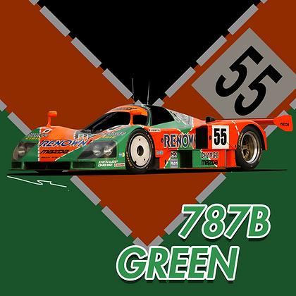 Mazda 787B Green