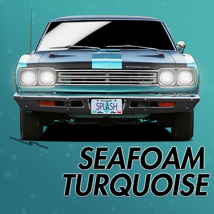 Plymouth Seafoam Turquoise