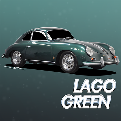 Porsche Lago Green Metallic