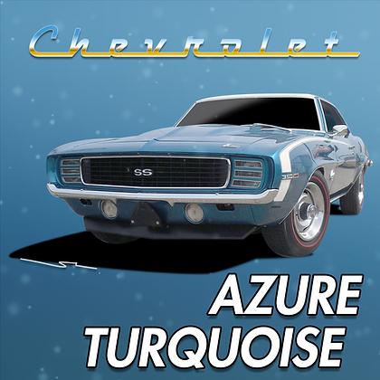 Chevrolet Azure Turquoise