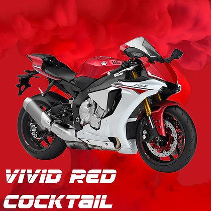 Yamaha Vivid Red Cocktail