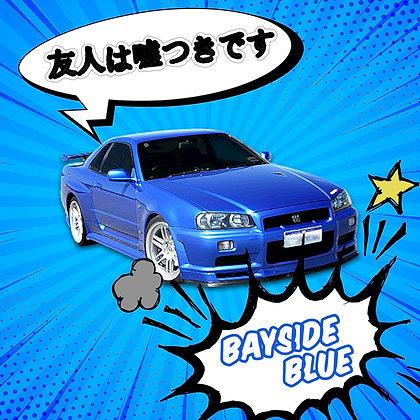 Nissan Bayside Blue