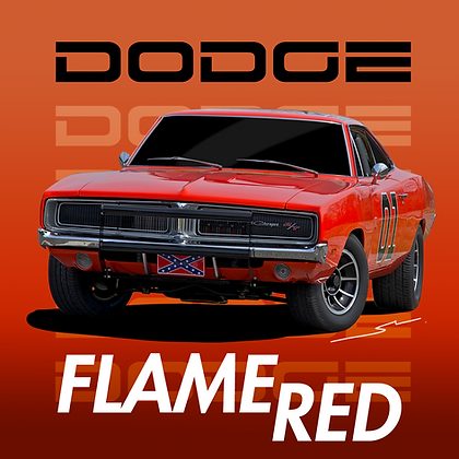 Dodge Flame Red (General Lee)