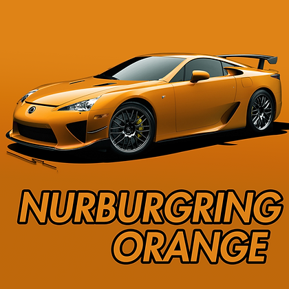 Lexus Nurburgring Orange
