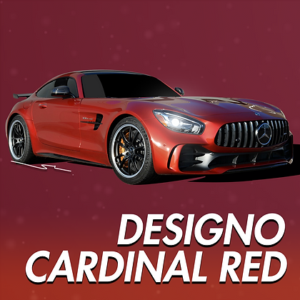 Mercedes Benz Designo Cardinal Red