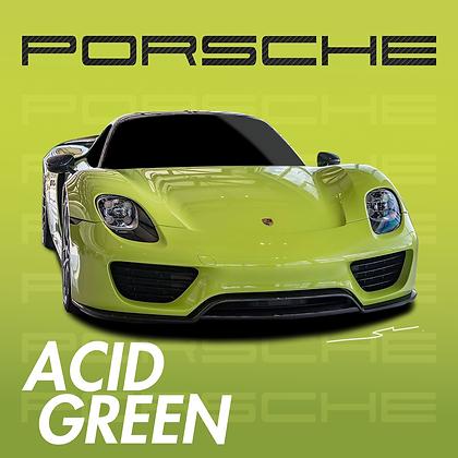 Porsche Acid Green