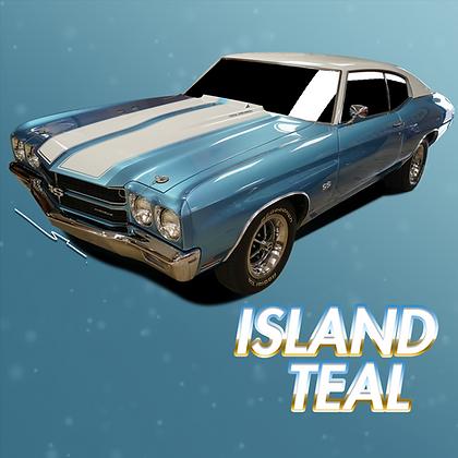 Chevrolet Island Teal