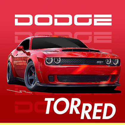 Dodge Tor Red