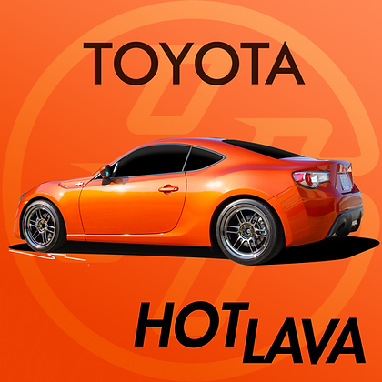 Toyota Hot Lava