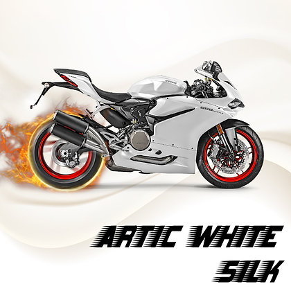 Ducati Artic White Silk