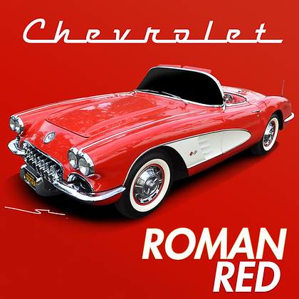 Chevrolet Roman Red