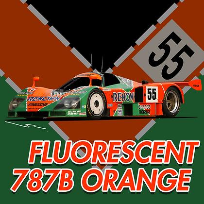 Mazda Fluorescent 787B Orange