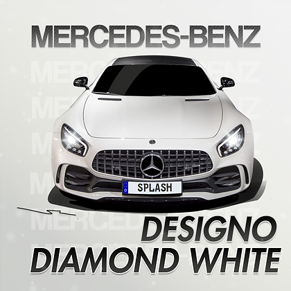 Mercedes-Benz Designo Diamond White