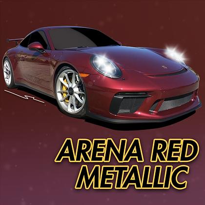 Porsche Arena Red Metallic