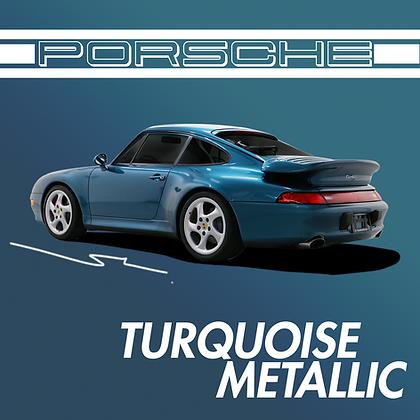 Porsche Turquoise Metallic