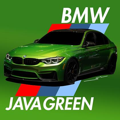 BMW Java Green