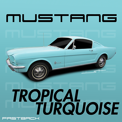 Ford Tropical Turquoise