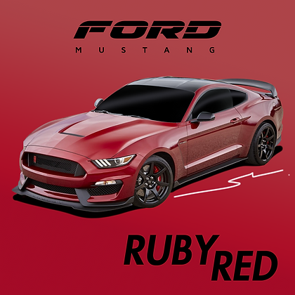 Ford Ruby Red